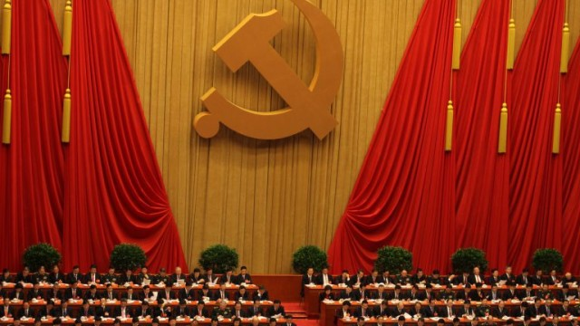 Image: 18th National Congress of the CCP, courtesy of Wikimedia Commons