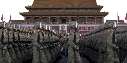 Soldiers of the People's Liberation Army. Concerns have been raised about collaboration between Australian research institutes and Chinese defence interests. Photograph: Reuters