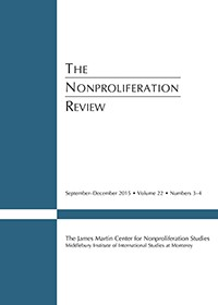 The Nonproliferation Review